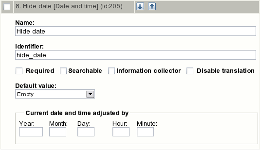 "Class attribute edit interface for the ""Date and time"" datatype."